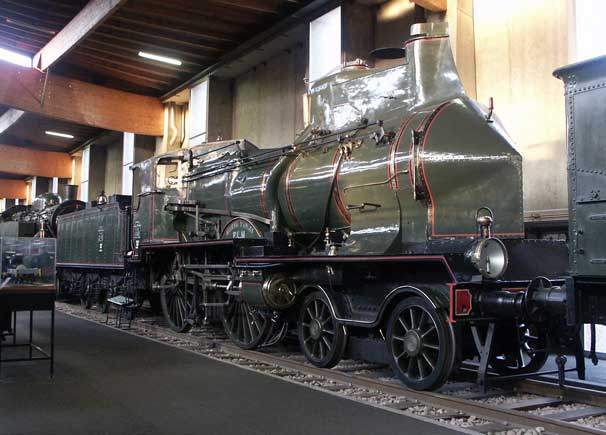 The French National Railway Museum Mulhouse