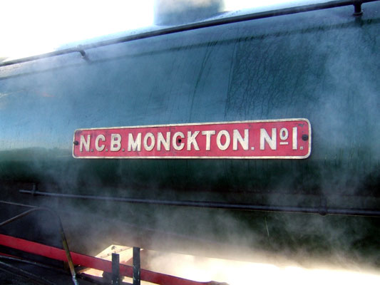 No.3788's fairly self explanatory nameplate. 09 December 2006