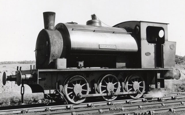 "Hunslet No.1810 of 1937. Another Hunslet 15"" 0-6-0st modified with a Kylpor exhaust ejector, underfeed stoker and on-grate secondary air delivery system. Sadly this loco has not made it into preservation. Photographed at  Fryston on 23 June 1967. ©  K.J.Cooper, Courtesy of YDRMT"