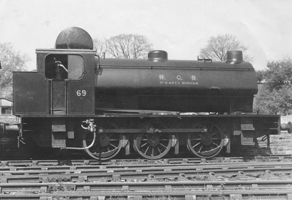 Hunslet No.3785 of 1953. Numbered 69 this loco spent many years operating at NCB South Hetton Colliery,   County Durham before heading to the Embsay and Bolton Abbey Steam Railway for preservation. © Charles Boylan, YDRMT