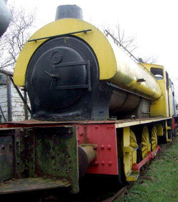 No.3889 is currently preserved at the Rutland Railway Museum. This locomotive is currently not fitted with a Gas Producer boiler. 28 January 2007
