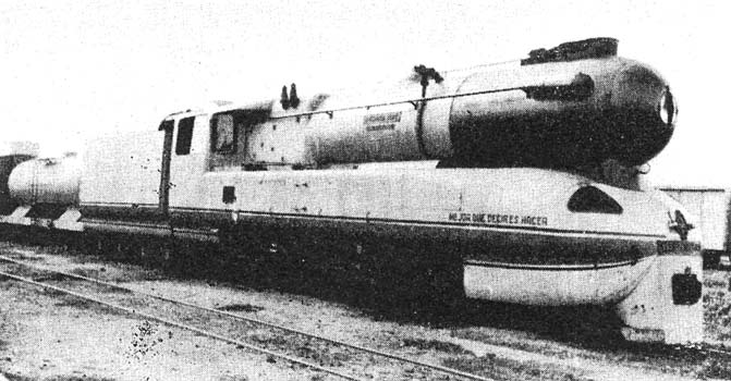 "This photograph of La Argentina appears in Porta's 1969 I.Mech.E paper. It was simply captioned thus: ""Prototype metre-gauge 4-cylinder compound 4-8-0 locomotive."""