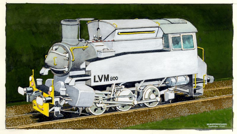 LVM800 as painted by Robin Barnes © Robin Barnes