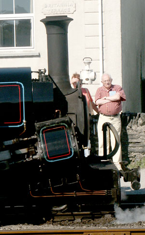 As seen in 2003 Linda carries a 'normal' chimney again, somewhat different to the Lempor fitted when the locomotive was a Gas Producer. August 14 2003
