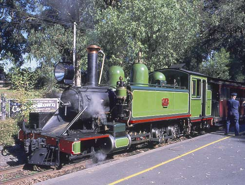 NA 6A at Menzies Creek station. May 2002