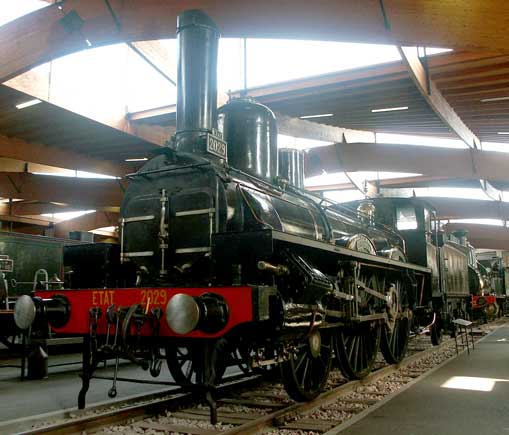 Etat System 2-4-0 No. 2029 is a two cylinder simple. October 9 2003