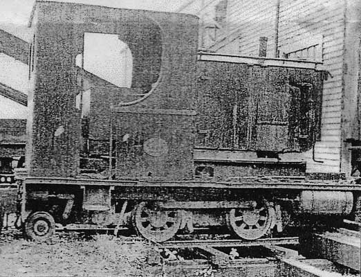 "No.1217 of 1910 - once! This is not as built and shipped to Butler Bros Ltd of New Zealand. At some point in its history this 3'6"" gauge 0-4-0st was transformed into a diesel. The poor loco! The photograph was taken in 1956. © Brian Whebell"