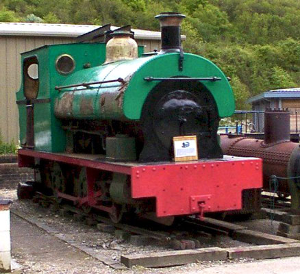 No.1316 of 1913. This 3' guage 0-6-0st is named 'Scaldwell'. It was sold to the Lamport Ironstone Company of Northampton. This locomotive is now preserved at Amberley Museum and Heritage Centre. © Dave Marden