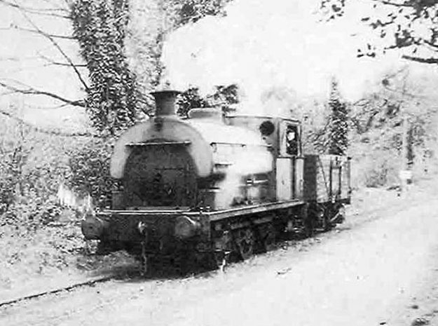 No.1424 of 1916. This locomotive worked at Melingriffith Tin Plate works in Whitchurch,. Cardiff. Photo courtesy of Bruce Pearce