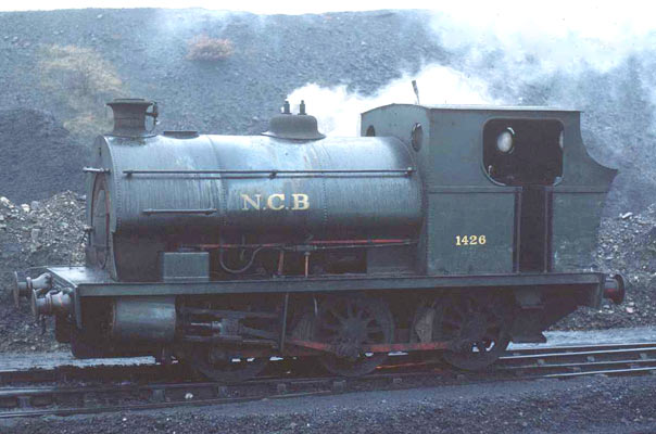 No. 1426 of 1916 at Brinlliw Colliery. January 31 1978. © Roger Griffiths