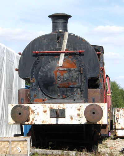 "No.1567 of 1920. This locomotive, ""Ackton Hall No.3"", is seen in the yard of the National Coal Mining Museum. July 31 2007. © Martyn Bane"