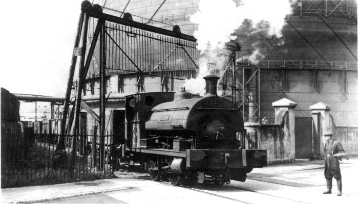 No.1638 of 1923. This R2 0-4-0st was named 'Bristol'. It is shown crossing Britannia Road in Southampton en route to Dibles Wharf on 16th. September 1953. This is taken from an old Pamlin Postcard. Courtesy of Dave Marden.