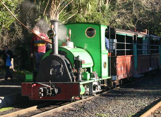 "No.1711 is preserved on the Puffing Billy Railway in the eastern suburbs of Melbourne. This 0-4-0st has 7""x10"" cylinders. The locomotive can often be seen mocked up as 'Thomas the Tank Engine'. © Bill Hanks"