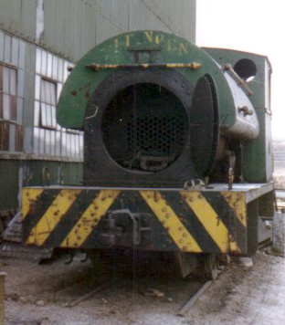 No.1731 the mid 1980s, still at Klip Works and is use for apprentice training. This locomotive is now part of the Sandstone Heritage Trust Fleet. © Geoff Pethick.