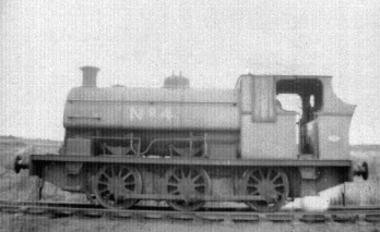 No. 1787 of 1933. This 0-6-0st was 'Newdigate No.4'. Thanks to Geoff Pethick for the info. © Roger Albion