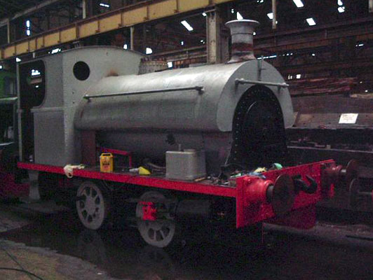 No.1903 of 1936. This 0-4-0st was originally supplied to the South Wales Public Wharf & Transit Company, Penarth. © Michael Waters
