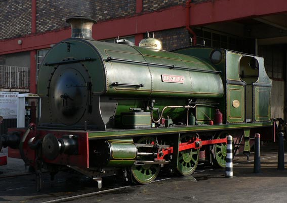 No.1940 of December 1937. 'Henbury', now preserved at Bristol Industrial Museum, was built in Bristol and worked all her life in Bristol at Avonmouth docks. It is still owned by Bristol City Council. © Richard Pearson