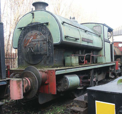 No.2003 of 1941. This loco, now named John Blenkinsop, is resident on the Middleton Railway in Leeds. December 2005. © Andrew Johnson