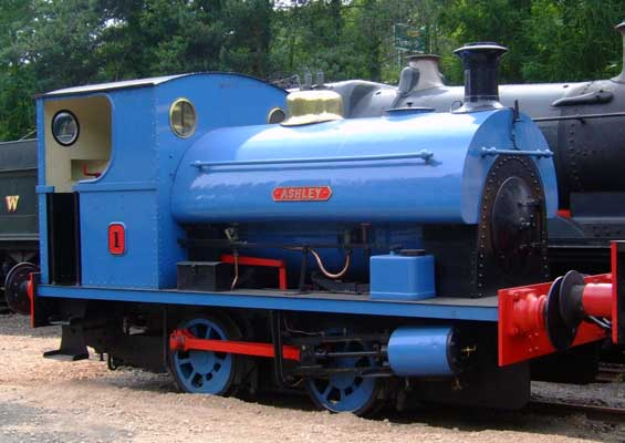 No.2031 of 1942. Named 'Ashley' this locomotive now resides on the South Devon Railway. July 09 2006