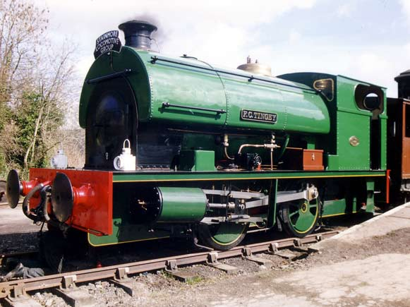 No.2084 of February 1944. Named 'F.C.Tingey' this 0-4-0st is seen at Kirkby Stephen whilst the then newly fitted Lempor exhaust ejector was being proven. © Nigel Day