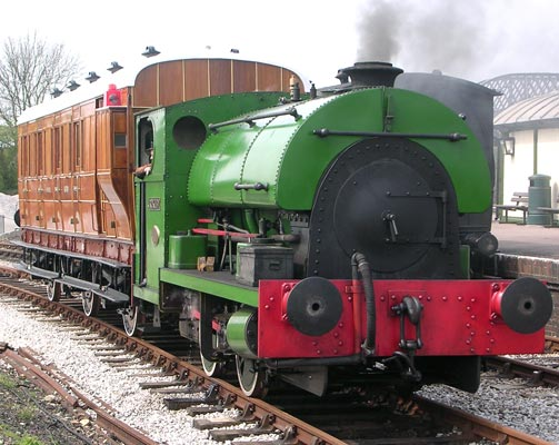No.2105 of 1951. This locomotive is the third of the trio build for Croydon power station. It is preservered at Buckinghamshire Railway Centre. © Colin Ashman