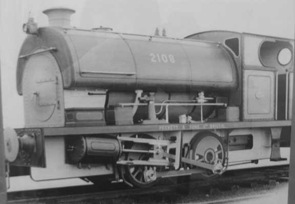 No.2108 of 1950. This loco was sold new to NCB Darfield Main Colliery. Thanks to Allan Pendragon for the photo and Geoff Pethick for the info.