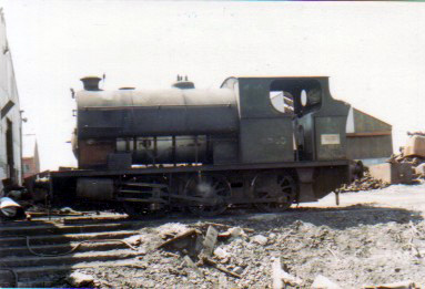 No. 2114 of 1951. This 0-6-0st was seen at Brynlliw Colliery in 1976. It now resides at the Kidwelly Industrial Museum. © Geoff Pethick