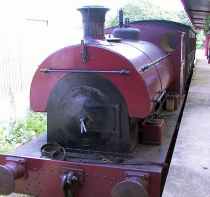 No.2129 of 1952. Crane Ltd of Ipswich, Suffolk purchased this locomotive from new. It now resides on Jersey at the Pallot Steam, Motor and General Museum where is part of the active steam fleet. © Dave Marden