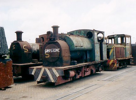 No.2143 of 1953. This 2' gauge 0-6-0st is seen at Beira docks, Mozambique, waiting to be transported to the Sandstone Heritage Trust in South Africa. © Geoff Pethick