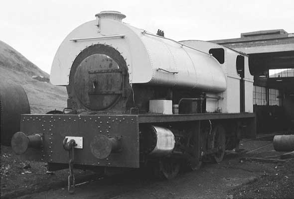 No.2150 of June 1954. Once named 'Mardy No.1' but perhaps better known as the Mardy Monster is seen at Mardy colliery. © Paul Sharpe