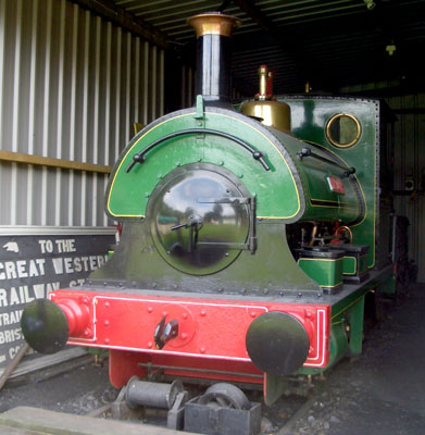 "No.784 of 1899. This 4'6"" gauge 0-4-0st named 'Lee Moor No.2' operated on the Lee Moor Tramway in Devon. It is now preserved on the South Devon Railway at Buckfastleigh. © Phil Horton"