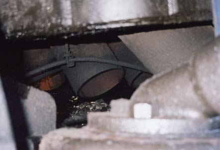 The base of the oil pan on R711