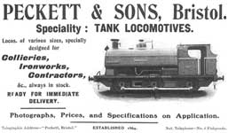 Peckett and Sons Promotional Material