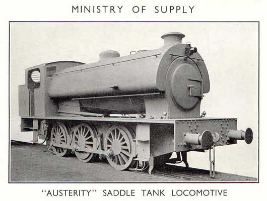 MoS Austerity Saddle Tank - As Built