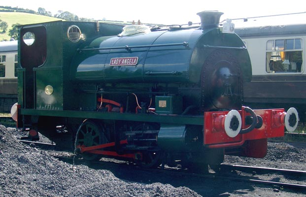 No. 1690 of 1926, Lady Angela, at Buckfastleigh on the South Devon Railway. August 21 2005