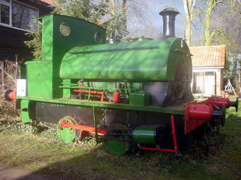 No.2012 in 2005, on display at Cadeby Light Railway.© Bryce Latham