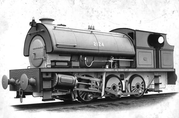 No.2124 of June 1951. This substantial 0-6-0st operated at Tower Colliery. For some reason it would not steam and thus was not a very successful machine. Thanks to Steve Oakden for the photo.