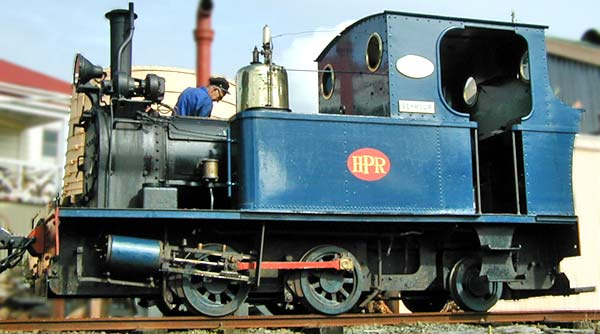 "No.2157 of July 1955. This 3'6"" gauge 0-4-2t his the same type as No.1664 shown above. It was built for shunting at the Portland cement works, Whangarei, New Zealand. It is now preserved by the Whangarei Steam & Model Railway Club. Photo courtesy of Neil Wood."