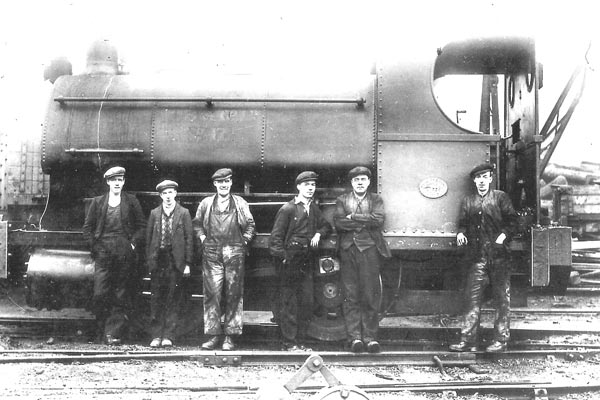 No.738 of 1899. The photo was taken at the William Baird Coal Company, Twechar, Scotland. 1928. Photo courtesy of J.D. McAulay.